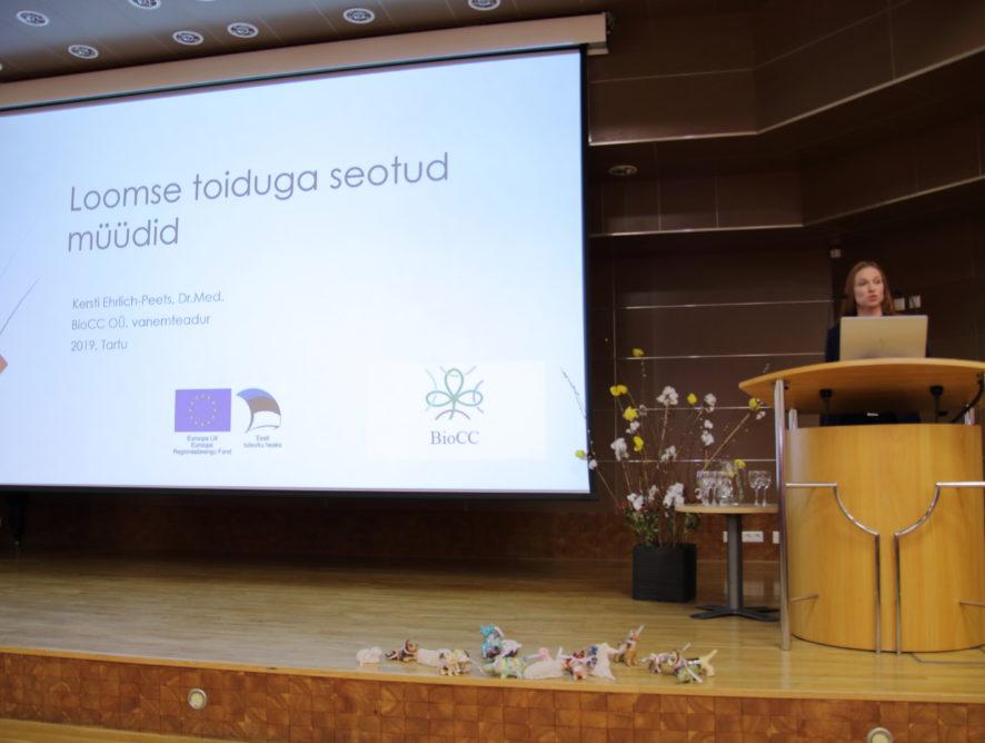 """BioCC OÜ konverentsil """"Terve loom ja tervislik toit 2019"""""""